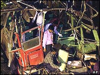 Bombay bus blast in July