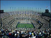 The Arthur Ashe Stadium