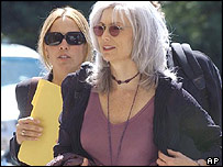 Sheryl Crow (left) and Emmylou Harris