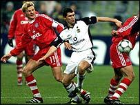 Bayern Munich versus Manchester United