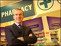 Tesco chief executive Terry Leahy