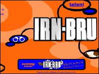 Irn Bru logo