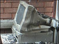 damaged computer