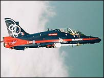 BAE Systems Hawk plane