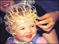 Bebé con sensores