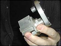 Replica of stereocamera on Beagle 2