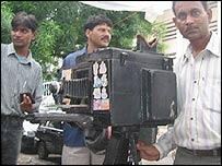 Street cameraman