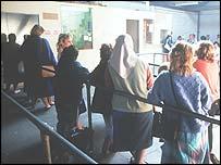 Unemployment queue