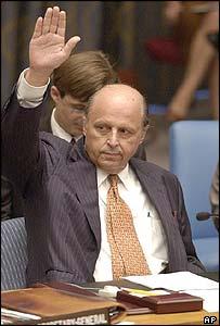 US ambassador John Negroponte