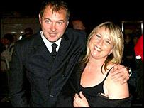 John Leslie and Fern Britton