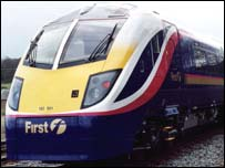 First Great Western 180 train