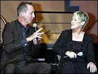 Michael Barrymore and Suzanne Prentice