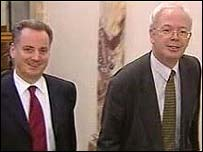 Jack McConnell and Jim Wallace