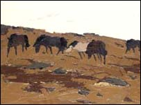 A painting by Sir Kyffin Williams