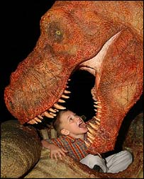 Dino eats a child, PA