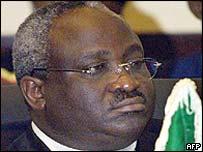 President Domitien Ndayizeye