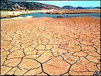 Desertificación, un riesgo del calentamiento
