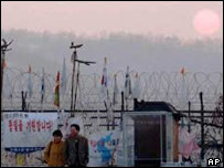 North-South Korean border