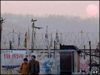 North-South Korean border