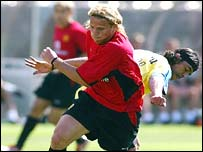 Manchester United's Diego Forlan