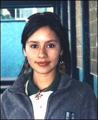 �ngela Abigail Luna Garc�a tiene 14 a�os.