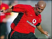 Juan Sebastian Veron was inspirational for Man Utd
