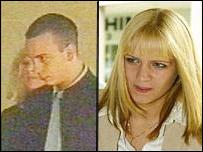 Rebecca Hodgson and Wayne Wood