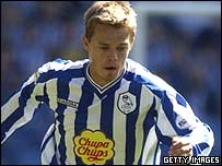 Simon Donnelly in action for Sheffield Wednesday