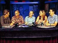 The Panel talk show ( image courtesy of Working Dog Productions)