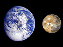 Earth-Mars comparison, Nasa/JPL
