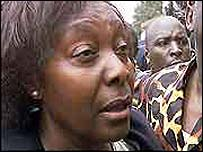 Kenya's Health Minister, Charity Ngilu