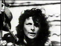 Leni Riefenstahl as a young film director