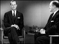 Duke of Edinburgh & Richard Dimbleby