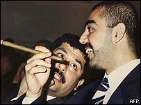 Uday y Qusay Hussein