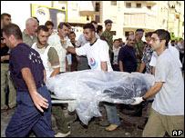 Atentado con coche bomba en Beirut.