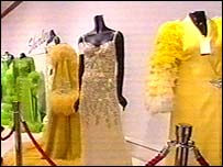 some of the dresses at auction