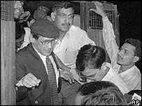 Charles Sobhraj deported from India 1997
