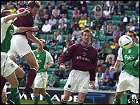 Andy Webster scored the winning goal