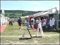 Maes yr Eisteddfod ym Meifod