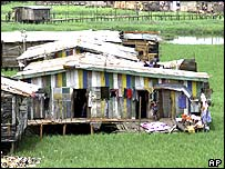 Poor housing in Lagos