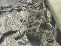 Dumped trolley