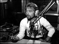 Noel Edmonds on BBC Radio 1 in 1976