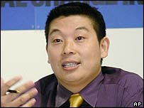 2001 file photo of Yang Jianli