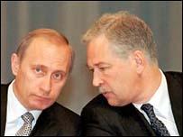 Putin i Gryzłow