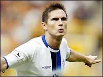 Chelsea's Frank Lampard celebrates