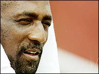 Sir Vivian Richards pictured in 1998