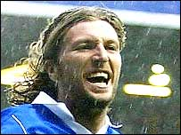 Robbie Savage scored Birmingham's first goal from the spot
