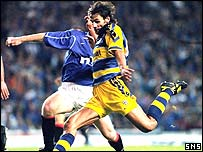 Paolo Vanoli played against Rangers for Parma in 1999