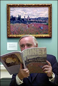 Sir Timothy Clifford, director of the National Galleries of Scotland