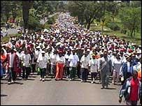Nairobi charity run